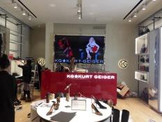 KG*Kurt Geiger名鞋店鋪顯示屏