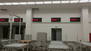 自動化倉儲LED顯示屏